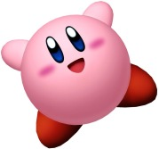 I wish I could have a pet Kirby.